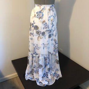 White House Black Market Skirts - White House Black Market floral maxi skirt S